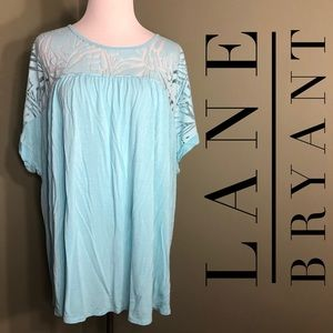 26/28 Lane Bryant short sleeved shirt